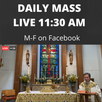 Daily Mass Live on Facebook