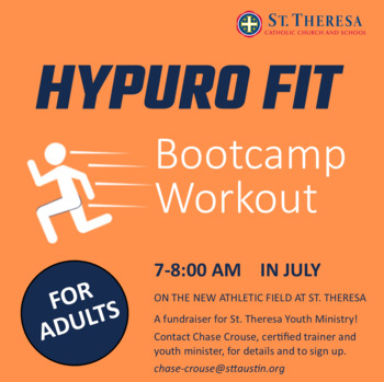 Adult HypuroFit Bootcamp Starts this Month!