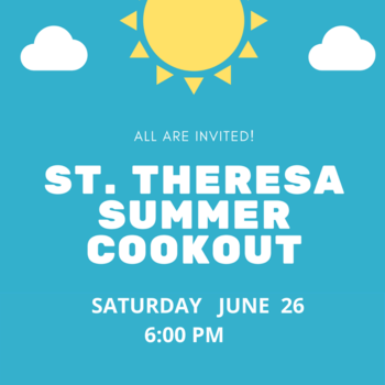 St. Theresa Summer Cookout