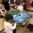 First graders help children in need