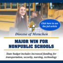 NJ Catholic Schools See Increases in State Funding