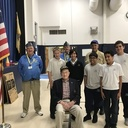 Students Welcome Catholic War Veterans