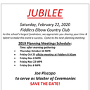 Jubilee Planning Meeting