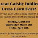 Great Gatsby Dress Down Day