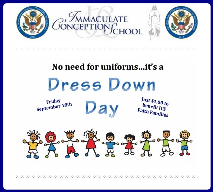 ICS Dress Down Day