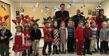 Bishop Visits ICS