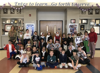 Second Grade Wax Museum