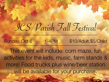 ICS/Parish Fall Festival
