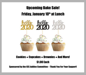 Bake Sale @ Lunch