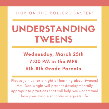 *POSTPONED Understanding Tweens