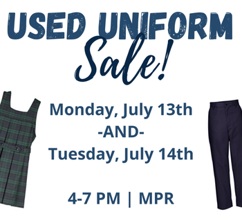 Used Uniform Sale