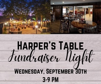 Harper's Table Fundraiser Night