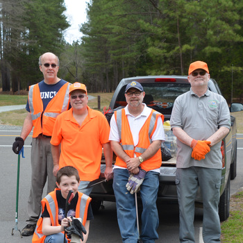 Knights of Columbus Roadside Cleanup