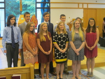 Newly Confirmed St. Matthew Youth