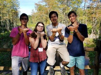St. Matthew Teens Participate in SEARCH Peer Leader Training