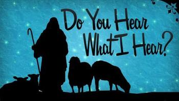 Do You Hear What I Hear? - Family Advent Program
