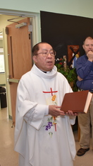 Thank you Father Thanh for your service to St. Matthew