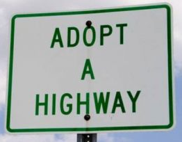 Adopt a Highway Mason Road Clean-up