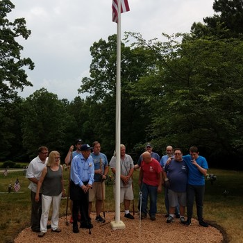 New Cemetery Flag Pole Base