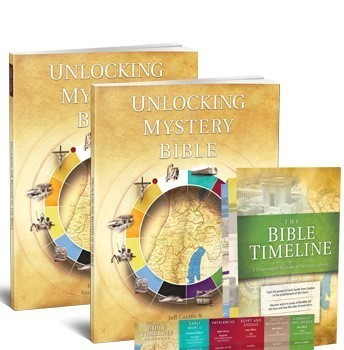 "8 week Bible study-""Unlocking the Mysteries of the Bible"""