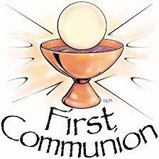 Celebration of 1st Communion