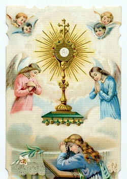 Eucharistic Adoration-4th week of the month - just for August