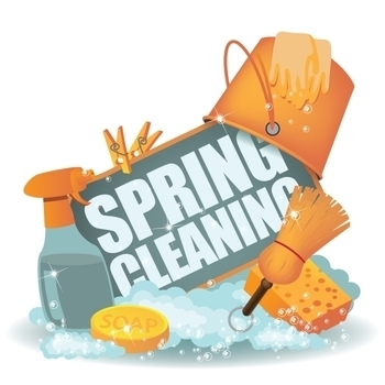 Spring Cleaning day for parish