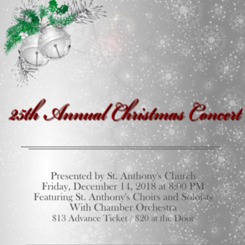 St. Anthony's Annual Christmas Concert