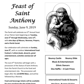 Feast of Saint Anthony