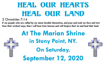 Heal Our Hearts, Heal Our Land