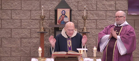 Watch Mass Live from St. Therese