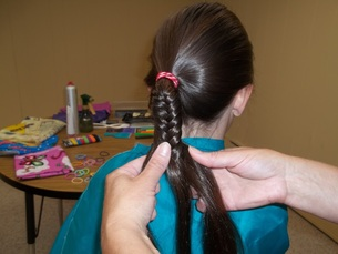 Learning how to French Braid
