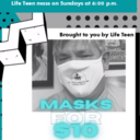Face Masks with St. Max logo on sale