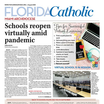 August edition of the Florida Catholic