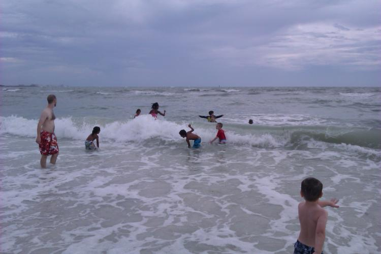 Family Ministry Beach Day Was a Blast!