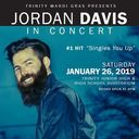 Jordan Davis in Concert! Saturday, January 26