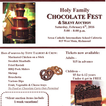 Chocolate Fest and Silent Auction