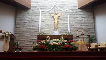 Easter Sunday- Holy Family Church