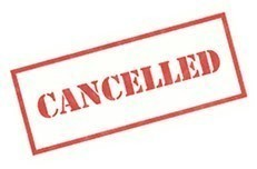 Bible Study Cancelled: Nov. 11
