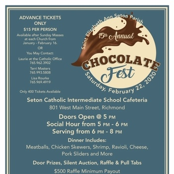 Chocolate Fest: February 22nd