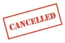Parish Cancellations