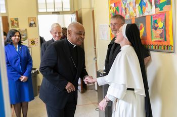Archbishop Gregory Visits St. Anthony