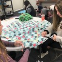 Middle schoolers cover kids' emotional needs with service project