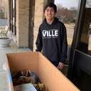 Libertyville High School Student Supports St. Joseph Food Pantry