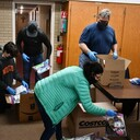 RCIA group create bags full of blessings