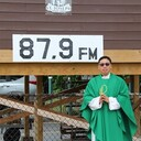 Father Emanuel's First Drive-In-Mass