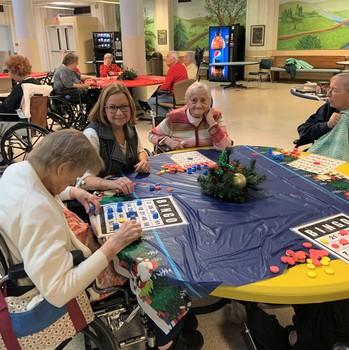 CFTK group bonds with Winchester House residents