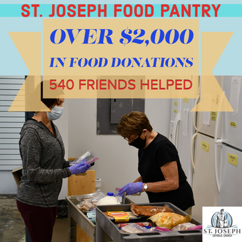 Food Pantry Helps 540 Friends