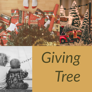 Giving Tree Project December 12 and 13 return gifts to gym!