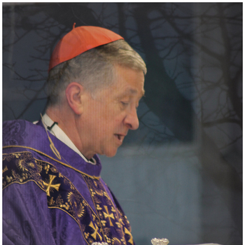 Cardinal Cupich Presides at Drive-In Mass